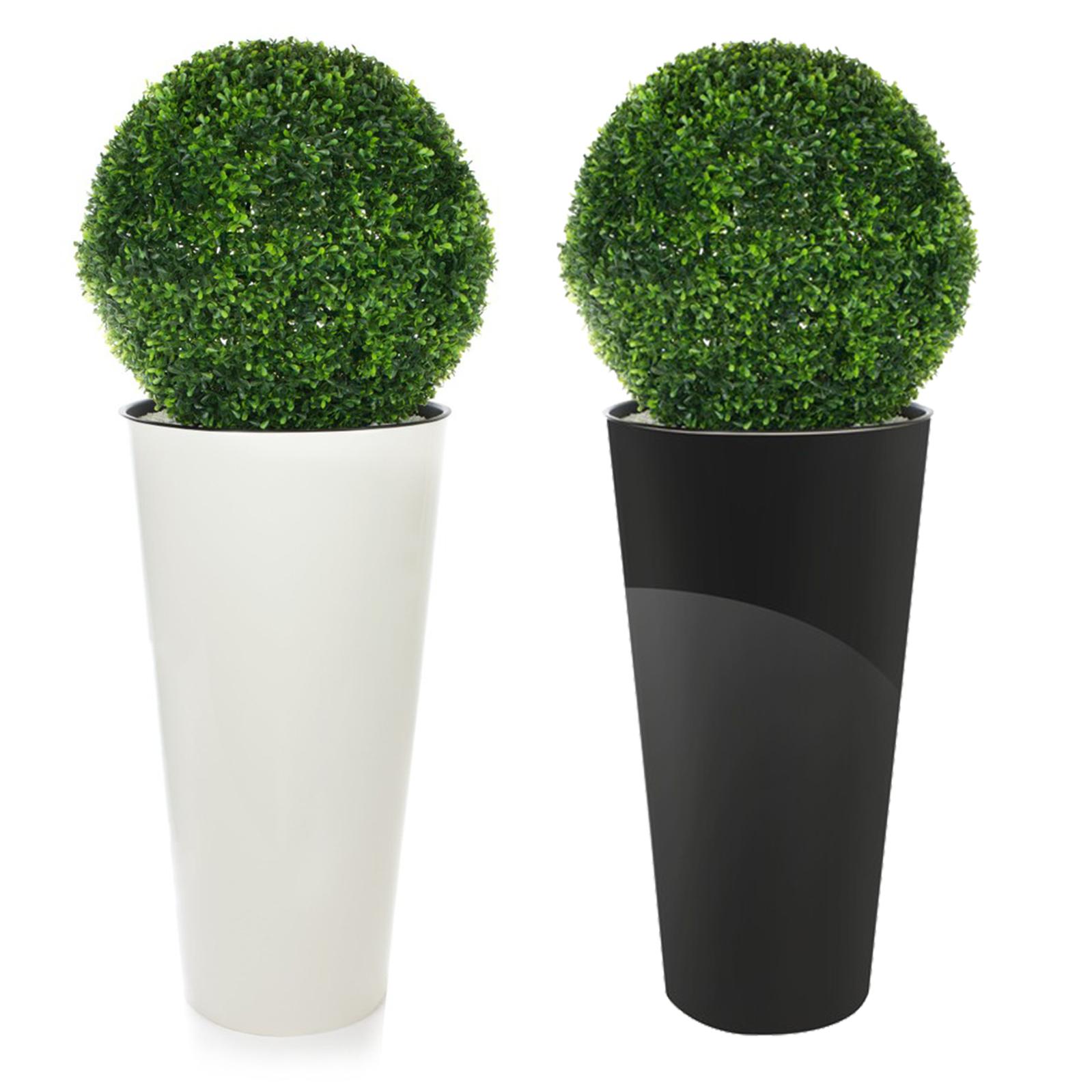 buchsbaumkugel hochtopf gl nzend k nstlich 120cm hoch dekoration innen au en 5 ebay. Black Bedroom Furniture Sets. Home Design Ideas