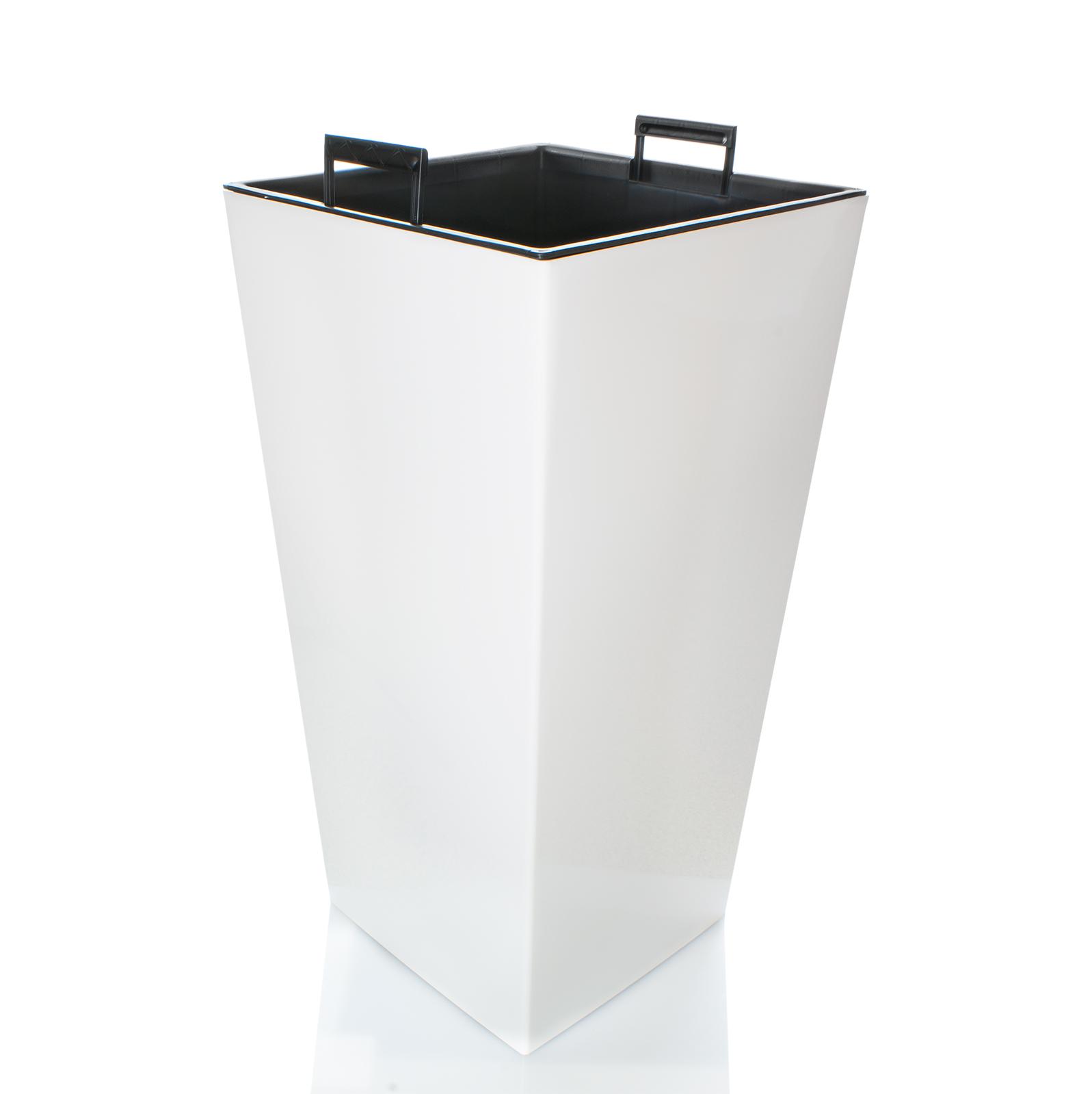 blumenk bel pflanzenk bel xxl h 76cm hochglanz mit einsatz. Black Bedroom Furniture Sets. Home Design Ideas